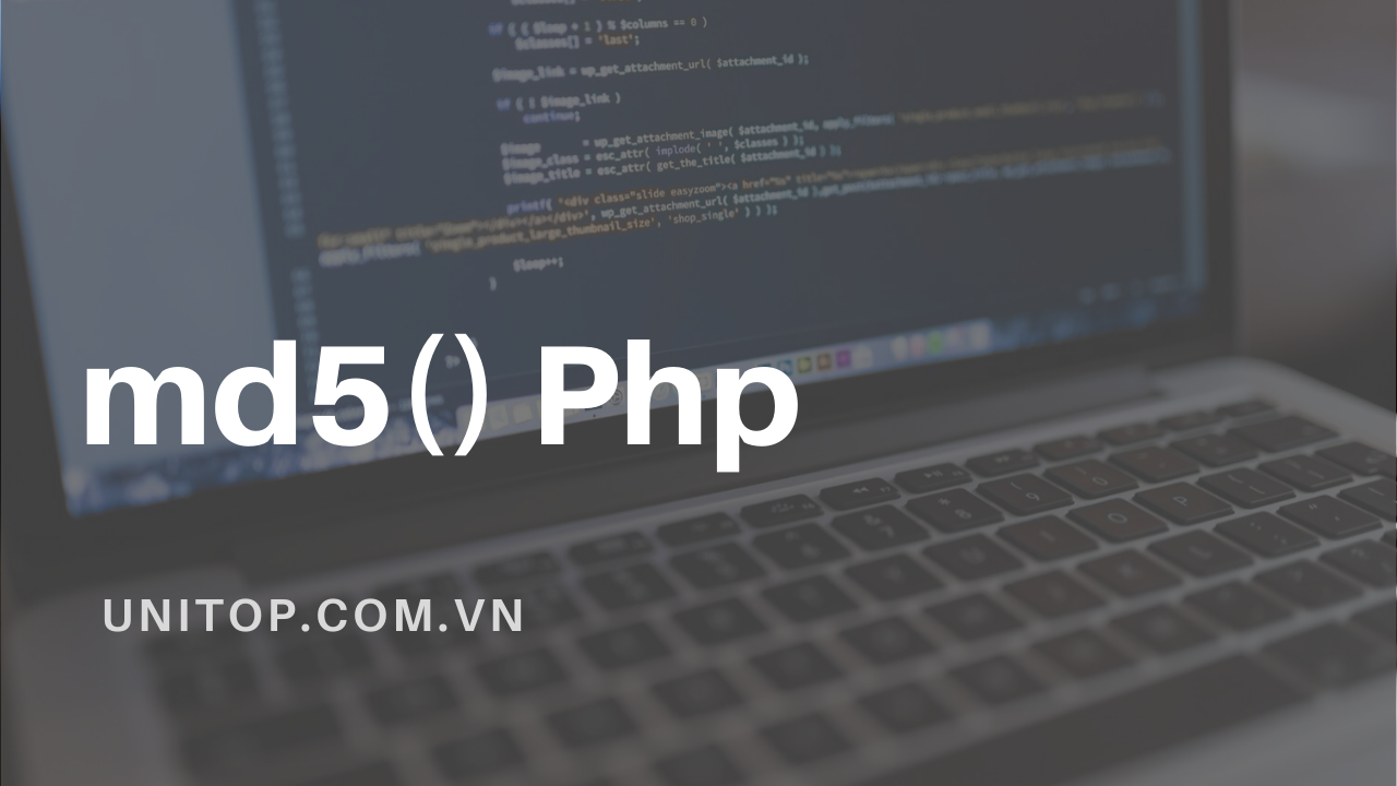 md5-php-unitop