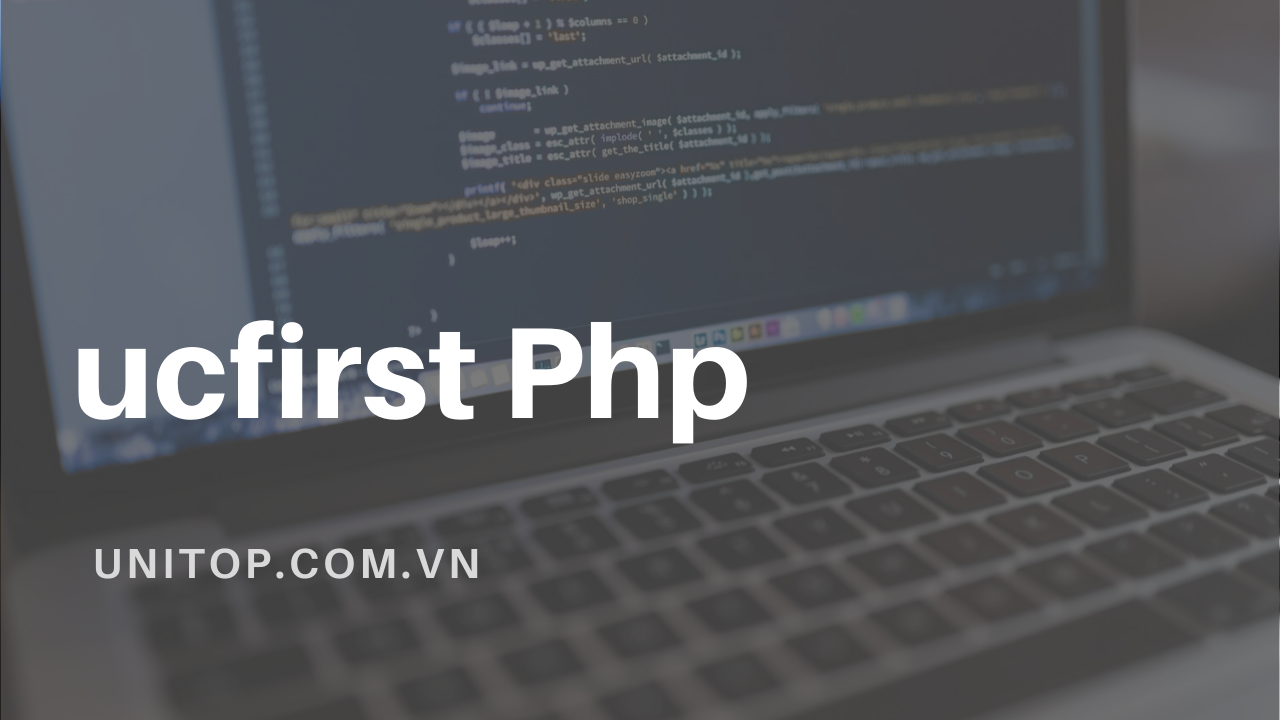 ucfirst-php