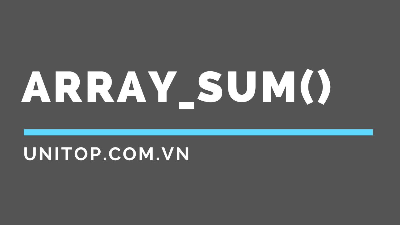 array_sum_php_unitop